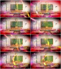 粒子课堂背景视频