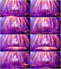 新疆风情新疆舞舞台LED视频