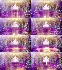 印度风情新疆舞舞台LED视频 mov