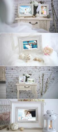 ae浪漫婚礼爱情相册模板