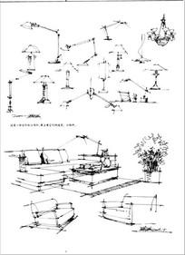 灯具手绘图 JPG