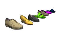 多样式鞋子