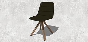 黑色简单坐凳
