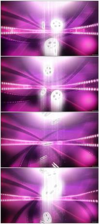 胶卷飘落光效粒子舞台背景素材