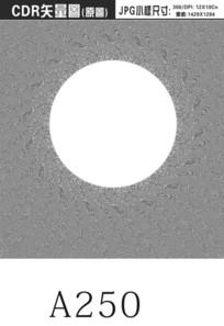 圆形压纹背景