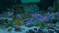 海底世界3D模型动画场景  max