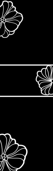 花瓣雕刻图案