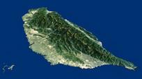台湾地图地形3d模型