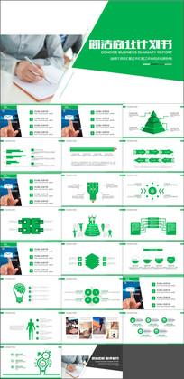 创业计划书商业项目合作PPT模板