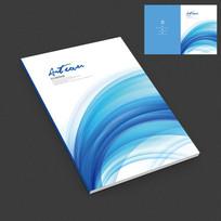 蓝色商务产品宣传画册封面设计