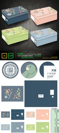 小鸟卡通盒包装设计