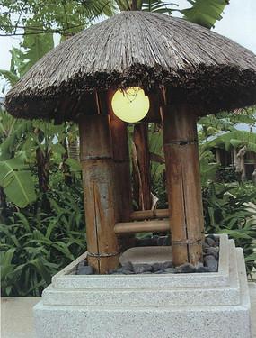 复古自然草坪灯具