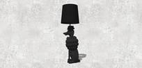 黑色装饰台灯