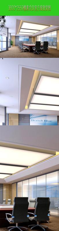 会议室设计高清JPEG效果图