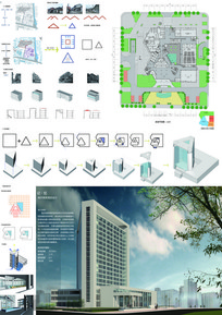 建筑学优秀毕业设计-高层酒店全套资料
