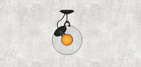 鸡蛋型吊灯