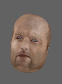 明星杰森斯坦森面具3D模型