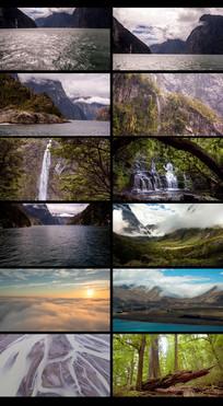 唯美延时自然风景视频