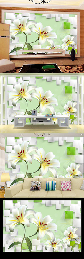 手绘高清花卉小品装饰画