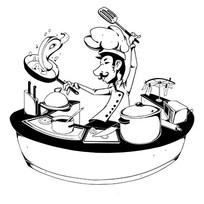 厨师烹调书籍插图 AI