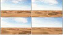 荒芜沙漠视频素材