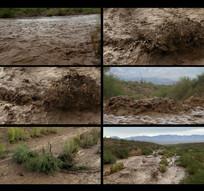 自然灾害发大水视频素材 mp4