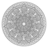 古典花纹印花地毯