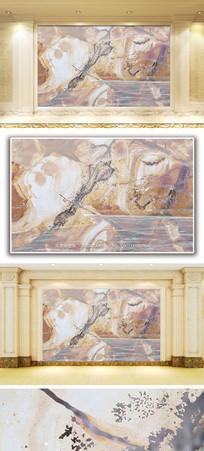 木纹纹理山水大理石纹背景墙