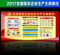 2017安全生产月宣传展板