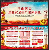 安全生产月中国风展板