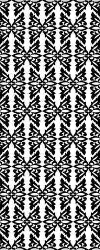 抽象蝴蝶图案