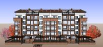 古典中式住宅模型
