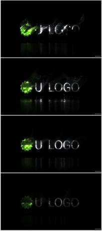 粒子消散LOGO展示视频