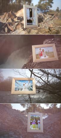 实拍加后期婚礼相册模板 aep
