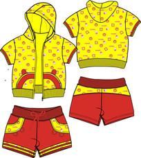 童装款式图童装款式设计