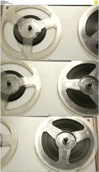 磁带录音机实拍视频素材