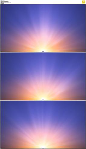 蓝色光芒背景视频素材