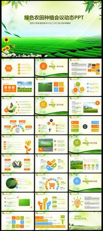 绿色农业种植科技粮食作物ppt