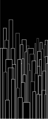 抽象高楼图案