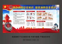 消防安全知识教育宣传栏
