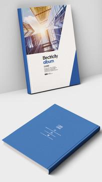 金融投资理财公司画册封面