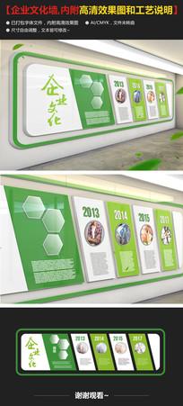 绿色环保企业形象墙设计