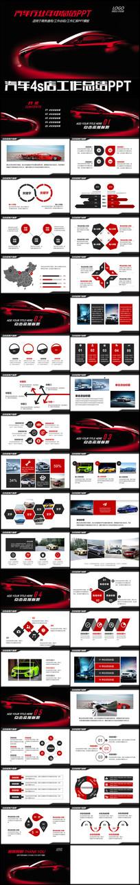 汽车行业上半年销售情况PPT