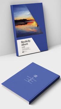 企业大气品牌画册封面设计