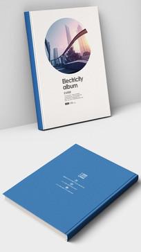 现代简约商务画册封面设计