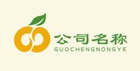 橙子农业水果logo