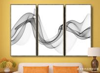 抽象意境水墨装饰画 水墨挂画