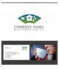 建筑房地产别墅logo设计