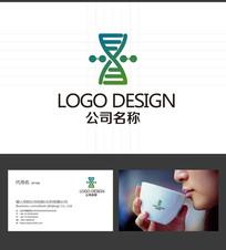 生物logo投资logo标志