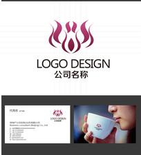 时尚动感logo标志